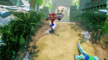 Релизный трейлер Crash Bandicoot N. Sane Trilogy