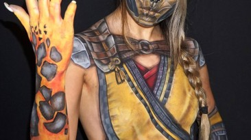 Косплей на персонажей Mortal Kombat от SleepyLaura