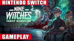 Видео игрового процесса Nine Witches: Family Disruption
