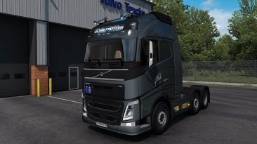 "Euro Truck Simulator 2 ""Volvo FH16 2012 Reworked v3.1.5.1 Fix (1.39.x)"""
