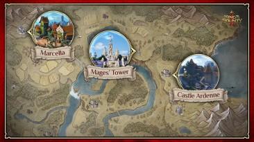 Опубликована часть карты King's Bounty 2