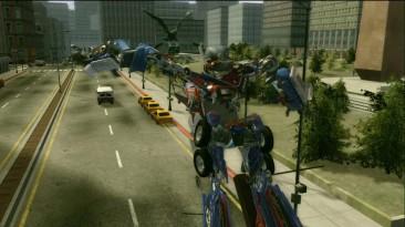Transformers: The Game - Optimus vs Megatron