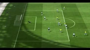 """FIFA 11 """"Роналдиньо нарезки красивых финтов и голов"""""""