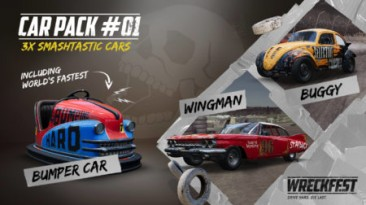 Вышло дополнение Retro Rammers Car Pack для Wreckfest