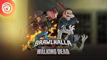 """Brawlhalla: Трейлер Мэгги и Ниган, которые появятся в рамках события по """"Ходячим мертвецам"""""""