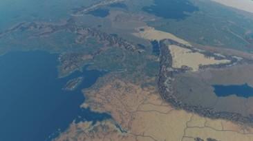 Средиземье на планетарном движке Outerra