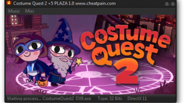 Costume Quest 2: Трейнер/Trainer (+5) [1.0: dx11] {h4x0r}