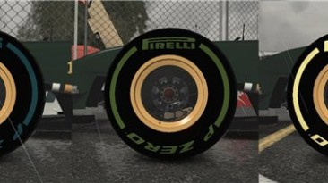 "F1 2011 ""Pirelli tyres 2012 HD"""