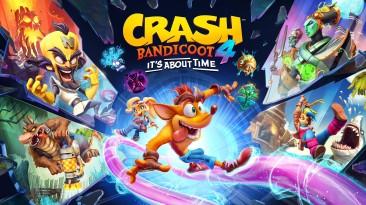 Оценки Crash Bandicoot 4: It's About Time
