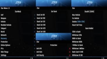 Grand Theft Auto 5 (GTA V): Чит-Мод/Cheat-Mode (Star v1.3) [1.50] {StarModz, LureexModzz}