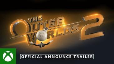 Анонсирующий трейлер The Outer Worlds 2