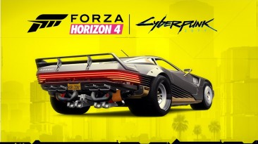 2058 Quadra Turbo-R V-TECH из Cyberpunk 2077 теперь в Forza Horizon 4