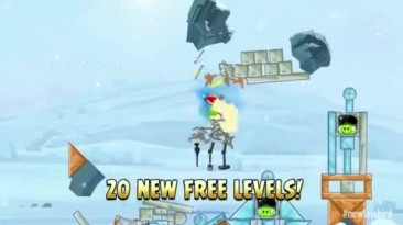 """Angry Birds Star Wars """"Hoth Episode Trailer"""""""