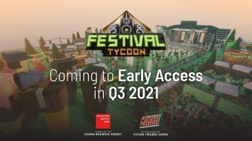 Новый трейлер и анонс релизного окна Festival Tycoon