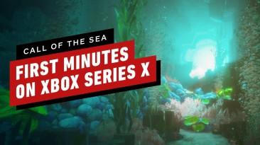 18 минут геймплея Call of the Sea с Xbox Series X