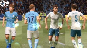 """FIFA 21 """"Домашняя и выездная форма Манчестер Сити 2021-22"""""""