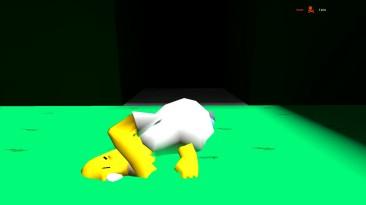 Симпсоны устроили тотальное разрушение в GARRY'S MOD (GMOD DEATHRUN ПРИКОЛЫ)