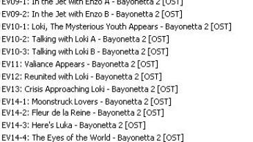 Bayonetta 2 OST