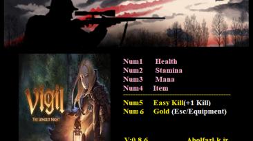 Vigil: The Longest Night: The Bounty of the Night Chronos: Трейнер/Trainer (+5) [0.8.6] {Abolfazl.k}