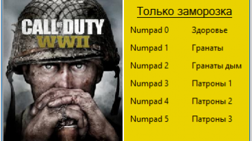 Call of Duty: WWII: Трейнер/Trainer (+3) [1.0] {Garik}