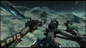 Первая демонстрация игрового процесса Asteroids: Outpost