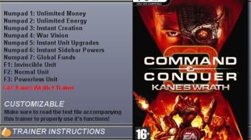 C&C 3:Kanes Wrath 1.0  (+9) Trainer