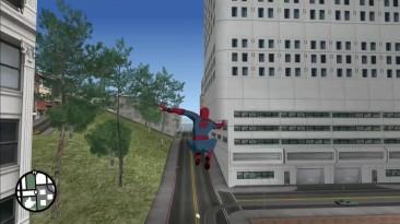 Новый мод, позволяющий стать Человеком-пауком в GTA: San Andreas