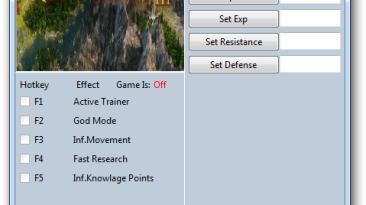 Age of Wonders 3 - Golden Realms: Трейнер/Trainer (+11) [1.427] {MrAntiFun}
