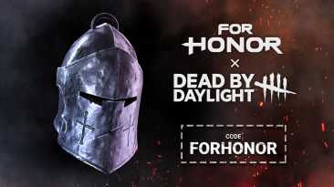 """Код на амулет """"Шлем Рыцаря"""" в честь коллаборации Dead By Daylight с For Honor"""