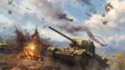 """""""Зимний футбол"""" в War Thunder"""