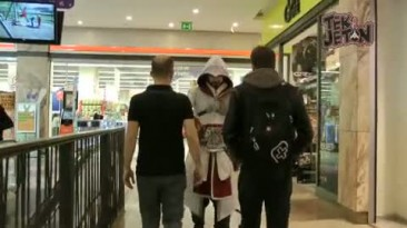 Пародия на Эцио из Assassin's creed BrotherhooD