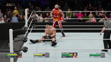 """WWE 2K16 """"2K16MyCareer Трое ПРОТИВ одного? Сложность Легенда"""""""