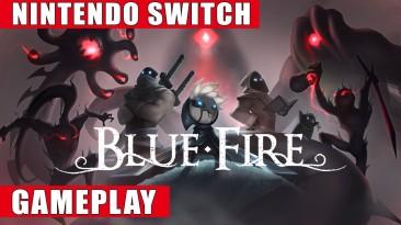 Видео игрового процесса экшен-платформера Blue Fire