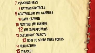 """Rayman 3: Hoodlum Havoc """"Manual (Руководство пользователя)"""""""