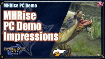 Новые кадры игрового процесса для ПК Monster Hunter Rise, демо-версия выходит сегодня