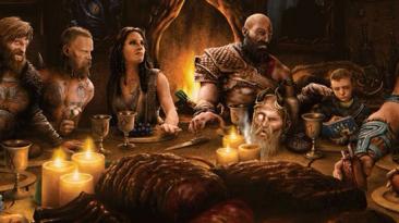 Фанаты God of War пытаются расшифровать изображение от Кори Барлога