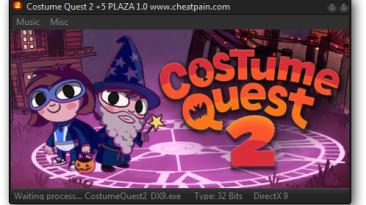 Costume Quest 2: Трейнер/Trainer (+5) [1.0: dx9] {h4x0r}