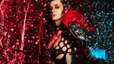 Красочный косплей Юран из MMORPG Blade and Souls
