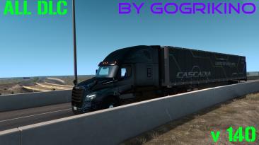 American Truck Simulator: Сохранение/SaveGame [100% Дорог / Все DLC / v1.40]