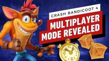 Видео и детали об асинхронном мультиплеере в Crash Bandicoot 4