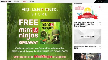 Square Enix Online Store раздает бесплатно игру Mini Ninjas