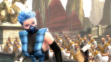 "Mortal Kombat ""DLC Costume Frost MKX (All Versions) 2.1"""