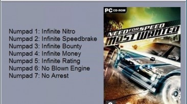 Need for Speed - Most Wanted: Трейнер/Trainer (+7) [1.3] {24K}