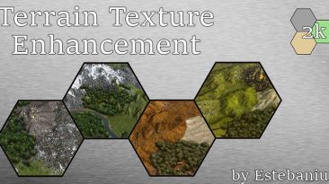 "Sid Meier's Civilization 5 ""Новые текстуры [Terrain Texture Enhancement 2k] V11"""