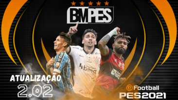 "PES 2021 ""BMPES 2021 Обновление 2.08"""