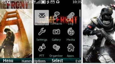 """Homefront """"Theme for Nokia s40 240x320"""" by Yurax"""