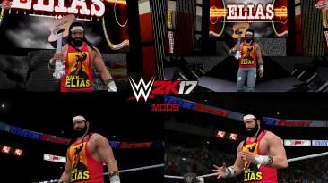 "WWE 2K17 ""Elias WrestleMania 36 Наряд (Лицевая анимация) WWE 2K19 Порт Мод"""