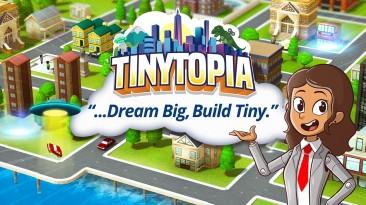 Cимпатичный игрушечный градостроительный симулятор Tinytopia выйдет в конце августа