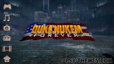 """Duke Nukem Forever """"тема для PS3."""""""