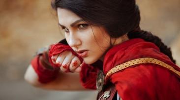 Косплей Кассандры из Assassin's Creed: Odyssey
